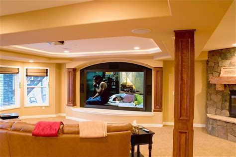 Livingroom Table Lamps lone tree walk out finished basement with theater wet bar