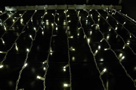 twinkle led lights twinkling led curtain lights on white wire with 35 wide