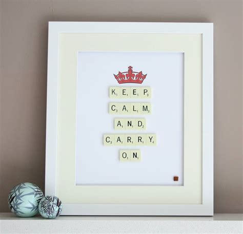 scrabble word ar keep calm carry on scrabble by copperdot