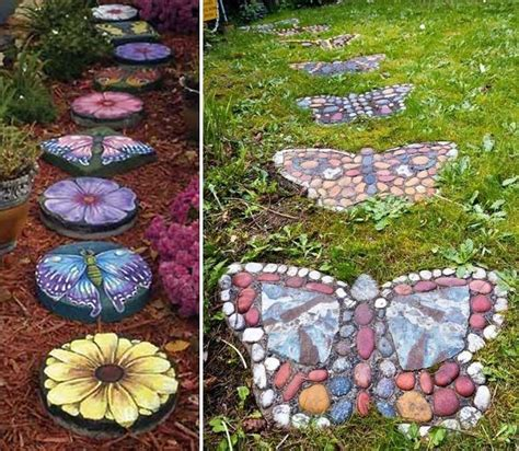stepping craft for 23 and whimsical garden stepping ideas diy