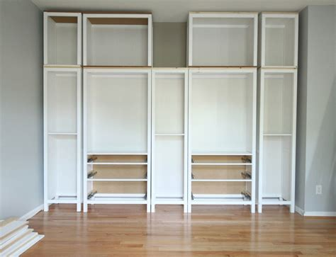 ikea built in bookshelves diy built in bookcase reveal an ikea hack studio 36