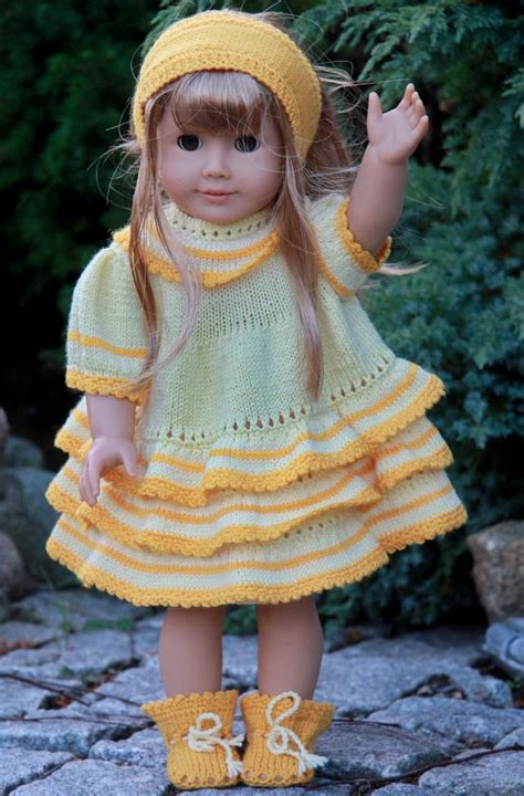 dolls knitted clothes patterns dress patterns for dolls free patterns