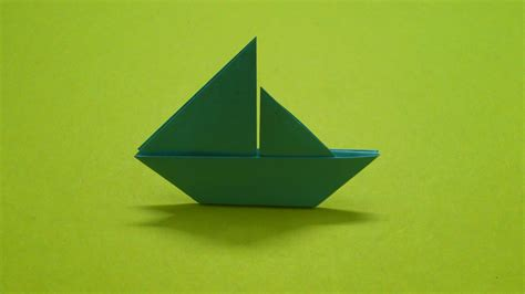 paper ship origami how to make a paper boat sail boat 2d