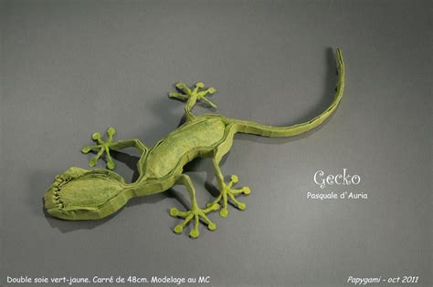 lizard origami iguana fold these 28 awesome origami lizards