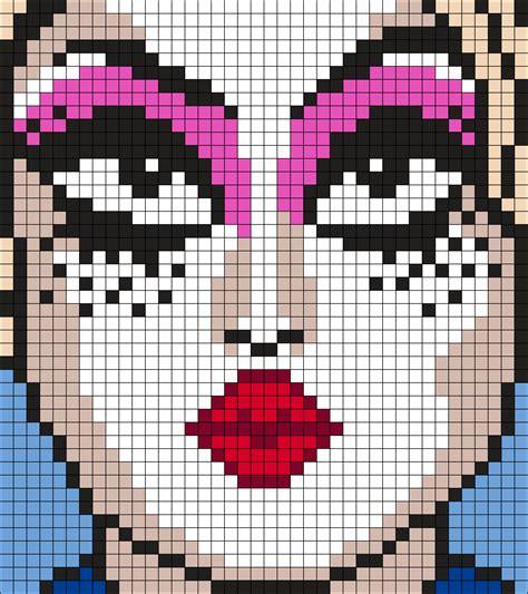 perler bead grid chi square grid pattern perler bead pattern bead