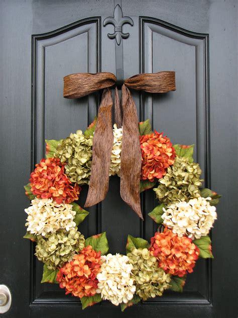wreaths for front door fall hydrangea wreaths front door wreaths wreaths for front