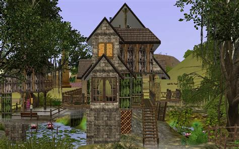 1 Bedroom Cottage Floor Plans mod the sims smelly house in the swamp