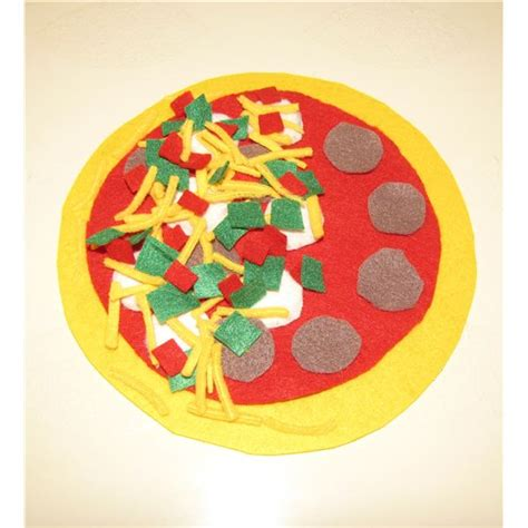 pizza crafts for make your own felt pizza activity for preschoolers