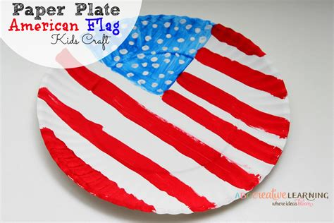 american flag crafts for paper plate american flag craft