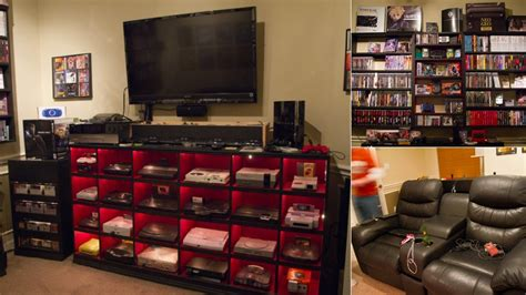 awesome gamer setups a historically awesome gaming setup with every console in