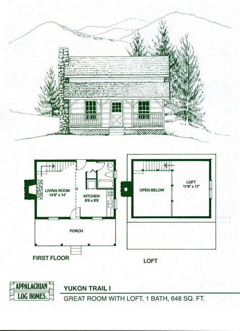 guest cabin floor plans small cabin floor plans with loft small guest house floor
