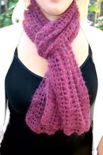 scarf pattern free sea shells crochet scarf free pattern for my