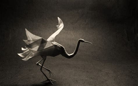crane bird origami origami bird crane wallpapers