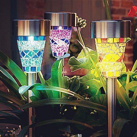 solar mosaic garden lights solar garden lights surlight solar