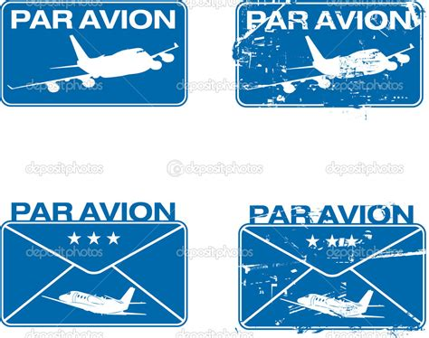 airmail rubber st par avion rubber st 03 stock vector 169 ints v 3087243