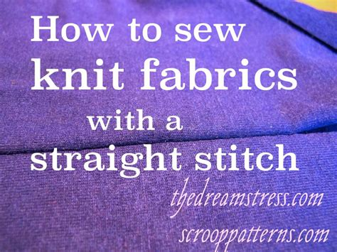 how to sew knit fabric sewing knit fabrics with a stitch stretch as