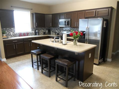 new cabinets for kitchen decorating cents kitchen cabinets revealed