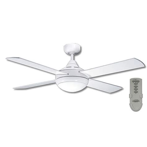primo ceiling fan with light and remote in white 48