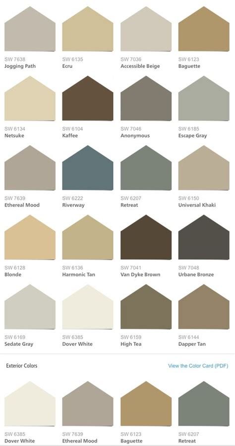 list of neutral colors sherwin williams hgtv home neutral nuance color palette