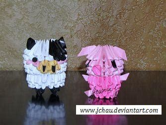 origami farm animals 3d origami farm animals by jchau on deviantart