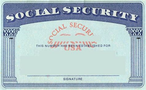 make social security card blank social security card template social security card