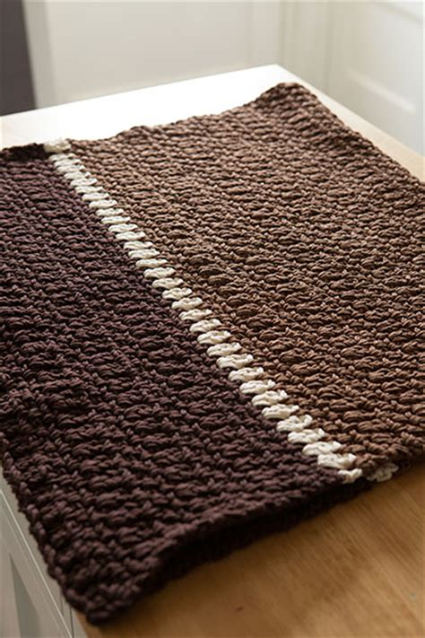 knit rug pattern crocheted kitchen rug knitting patterns and crochet