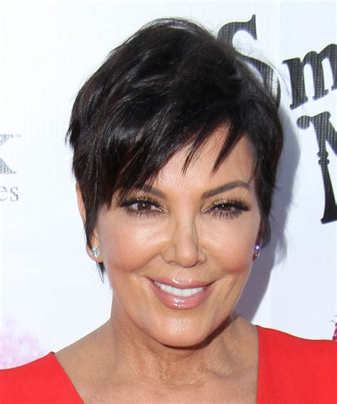 kris jennder haircut front and back view short hairstyle