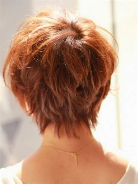 views of back of medium hairstyles short hairstyles back view newest