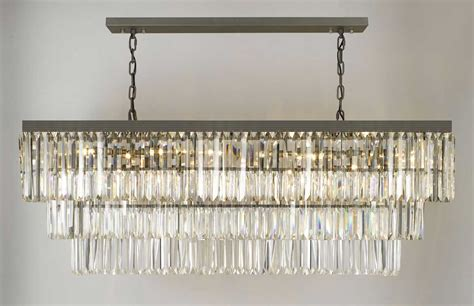 rectangle chandelier g902 1156 12 gallery closeout retro odeon glass fringe