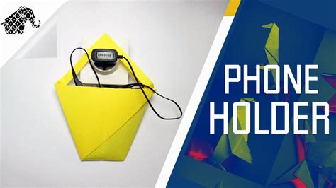 how to make a origami phone origami how to make an origami phone charger holder