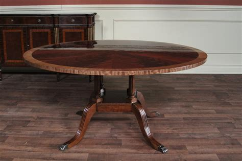60 mahogany dining room table by hickory chair