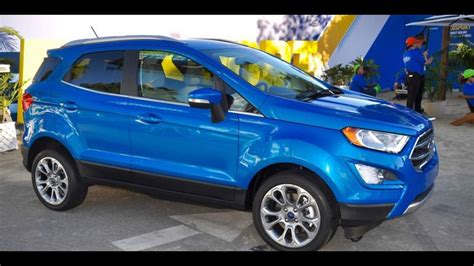 Suv By Mpg by In 2018 New Ford Ecosport Mpg Suv
