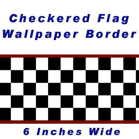 Race Car Wallpaper Border by Racing Checkered Border Clipart Best