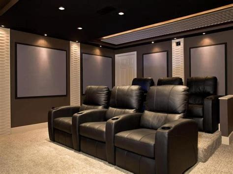 home theatre decoration ideas home theater ideas 187 design and ideas