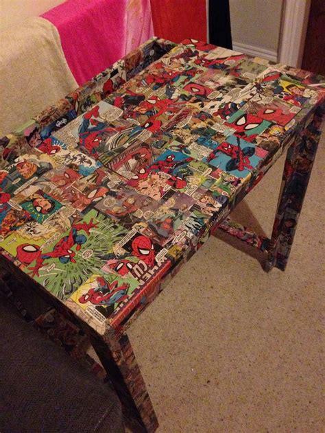 decoupage bed decoupage desk bed room ideas
