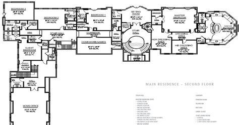 floor plans mansions floorplans homes of the rich