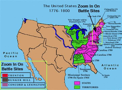 Map Of Usa Solids Thinglink Ushistory Yhs Territorial - Us expansion map