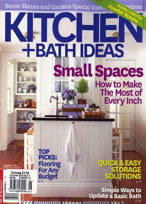 bhg kitchen and bath ideas bhg kitchen and bath ideas magazine subscription buy at newsstand co uk home interiors