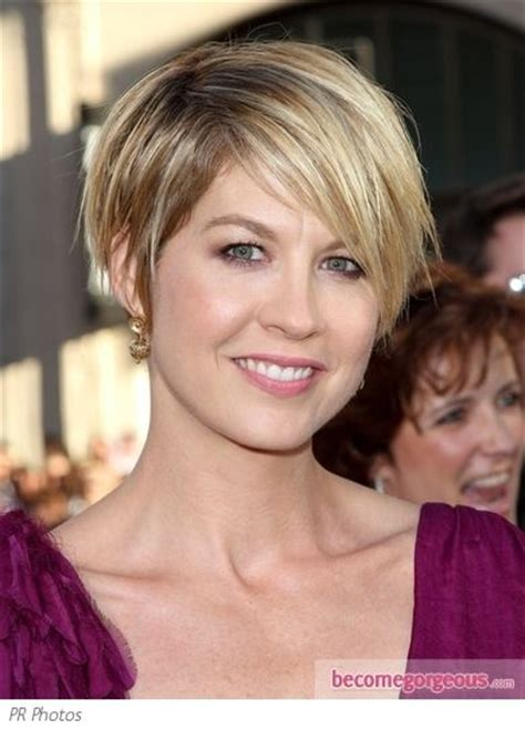 wedge haircuts for thick hair 10 ideas about jenna elfman on pinterest short hair