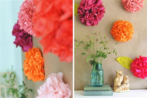 crafting paper flowers diy tissue paper flower backdrop