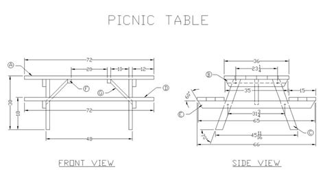 picnic table woodworking plans 21 wooden picnic tables plans and guide