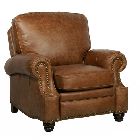 leather recliner chairs barcalounger longhorn ii leather recliner chair leather