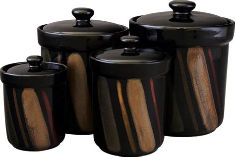 black canisters for kitchen kitchen canister sets black 28 images tea coffee and