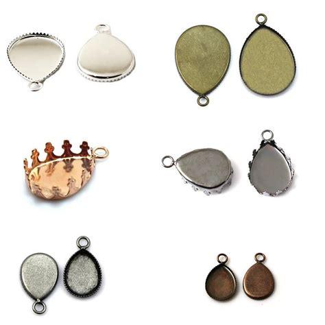 jewelry settings beadsnice blank bezel settings pendant setting cameo base