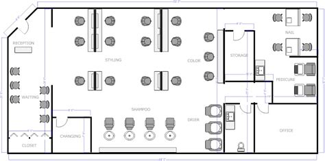 floor plan for hair salon salon floor plan 2 business decor salons