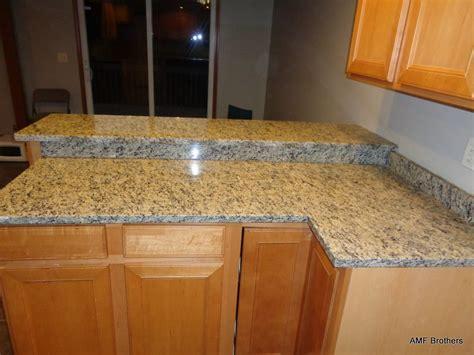 santa cecilia light granite kitchen pictures santa cecilia light elkhart in amf brothers granite