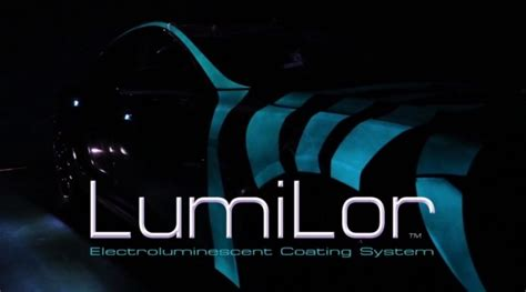 glow in the paint for cars electrified paint lumilor can make your car glow