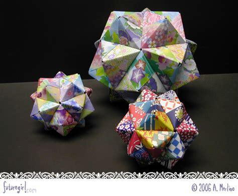 working origami futuregirl craft