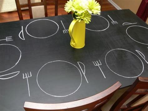 chalkboard paint table how to creatively use chalkboard paint around the house