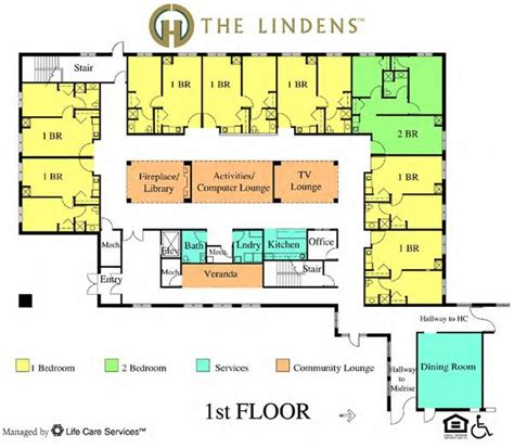 floor plans for assisted living facilities 13 best elderly housing images on assisted